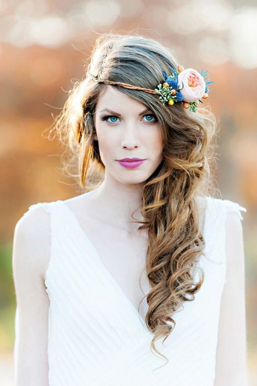 natural-bridal-hairstyle