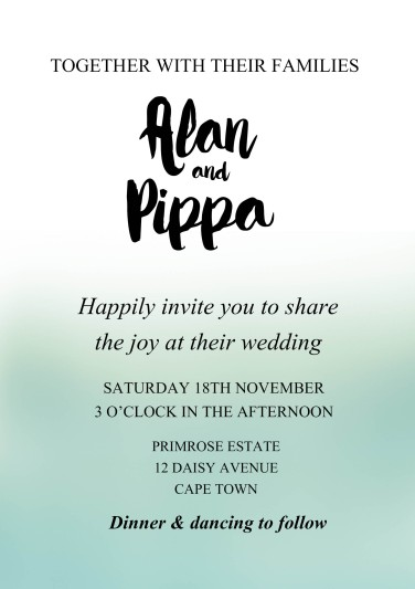 Wedding stationery @SheerEverAfter