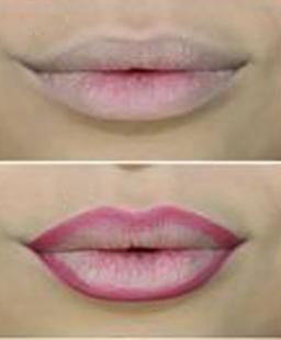 pale lips