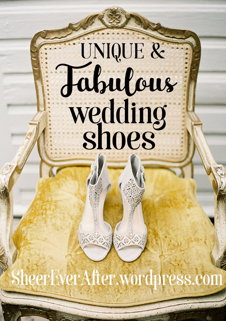 Wedding shoe inspiration @Sheer ever after