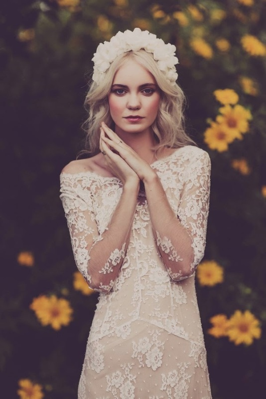 Long sleeve wedding dress inspiration    SheerEverAfter.wordpress.com