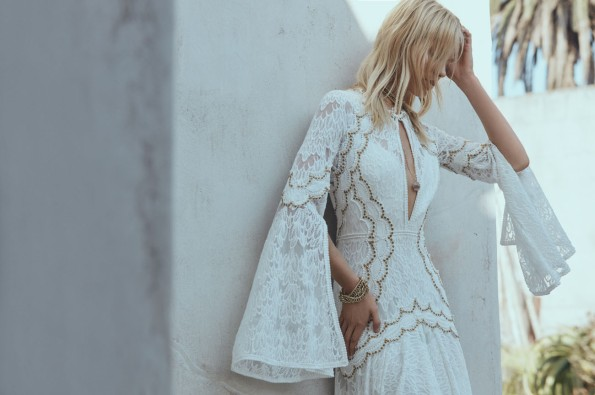 Bohemian Wedding dress inspiration - Rue de Seine @Sheer ever after