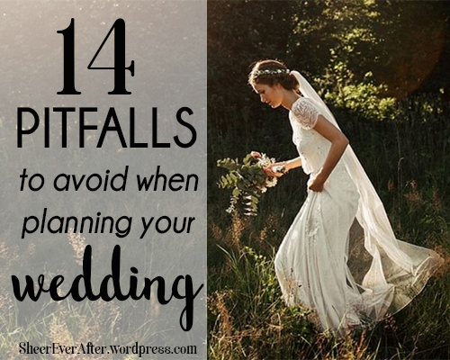 Wedding pitfalls to avoid